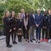 The Regis School student welcomed to 10 Downing Street with stars of Soccer Aid