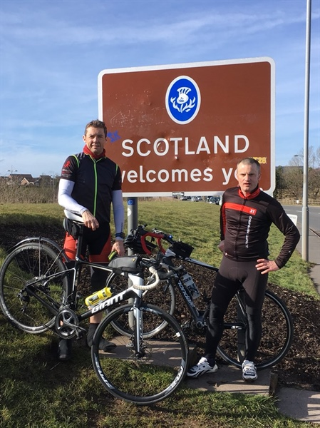 RideABC reaches £30,000 fundraising target