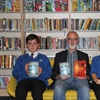 Author's visit a spooktacular success at Accrington Academy