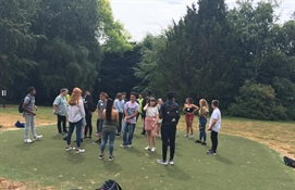 University of Birmingham hosts students for Scholars' Club Residential