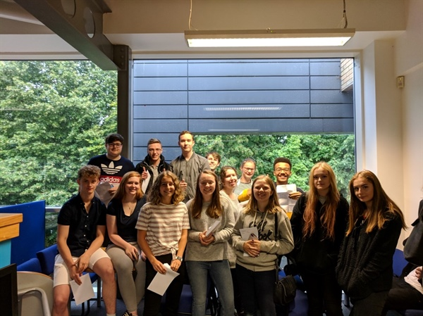 North Oxfordshire Academy celebrates students' A Level success