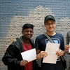 Students celebrate continued A Level success at Walthamstow Academy