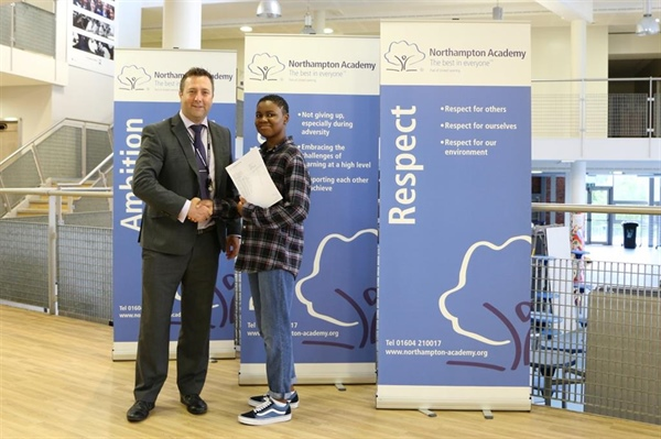 A* and Cambridge success for students at Northampton Academy