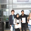 Accrington Academy students celebrate A Level success