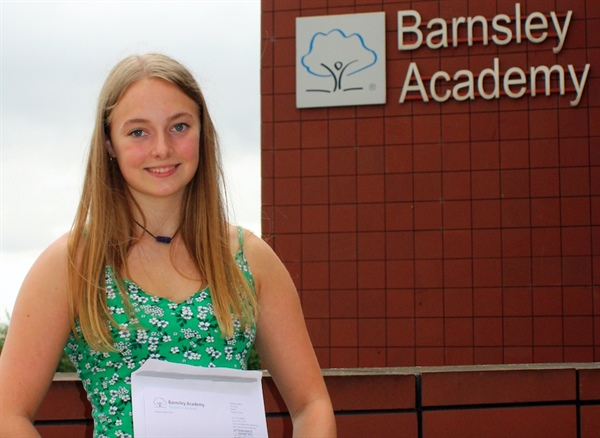 Barnsley Academy celebrates improvement at GCSE