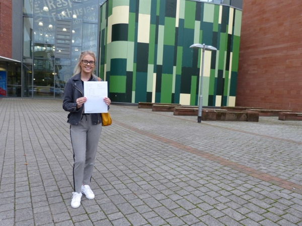 Hard work pays off as Central Academy students celebrate GCSE success