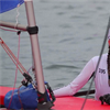 Hull Collegiate School year 12 student Poppy sails in the Topper World Championships in China
