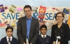Pupils vow to cut out plastic bottles as part of...