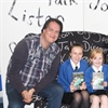 Author Andy Briggs fires students' imaginations at Accrington Academy
