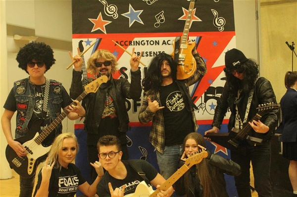 Let's rock 'n roll at Accrington Academy