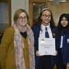 Manchester Academy students receive historic England plaque