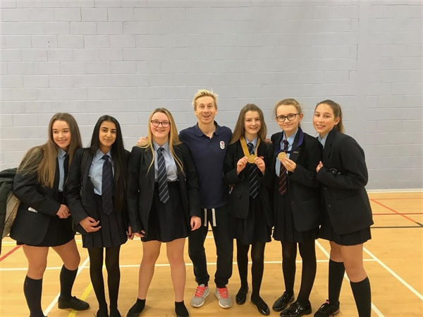 Olympic gymnast has the Hyndburn Academy students aiming high!