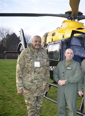 RAF makes flying visit to Manchester Academy
