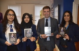 Manchester Academy Students first to receive DVD of Emmeline Pankhurst documentary