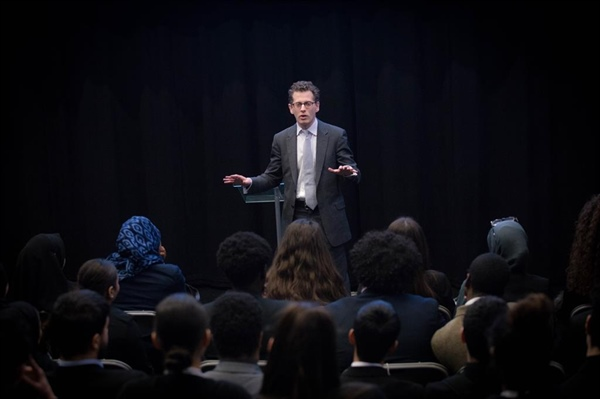Academy students receive career advice and guidance from barristers