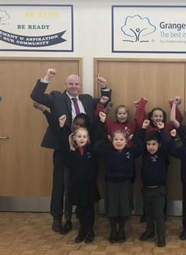 Grange Primary Academy continues to be 'GOOD'