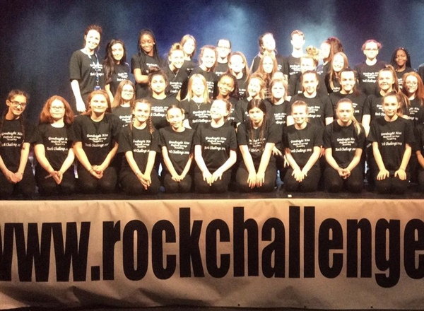 Sheffield Springs Academy's 'Goodnight kiss' takes the awards at Rock Challenge 2019
