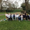 "In it together: Hill View Primary pupils run ""London Marathon"" to support teacher"
