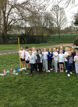 "In it together: Hill View Primary pupils run ""London..."