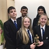 Students take 'Pioneering Award' in competition