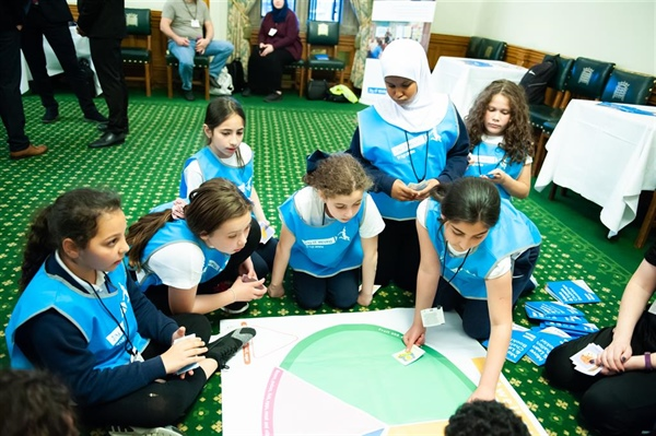 Wilberforce primary pupils get moving at Houses of Parliament