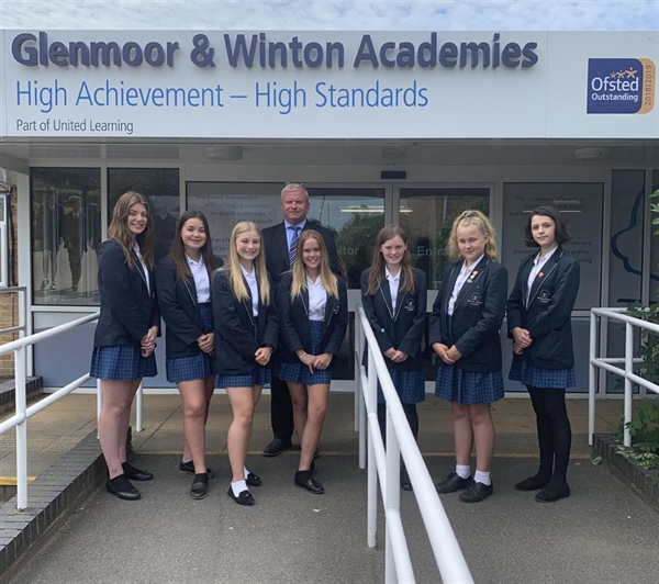 'OUTSTANDING' Ofsted for Glenmoor Academy