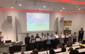 Pupils attend special graduation at University of London to celebrate involvement in The Scholars Programme