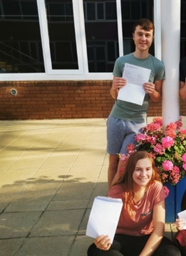 Students celebrate A-level success at North Oxfordshire...