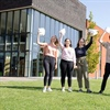 Midhurst Rother College sixth formers celebrate results