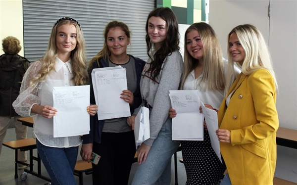 A Level celebrations underway at Richard Rose Sixth Form