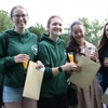 Newstead Wood School sixth form students celebrate A Level success