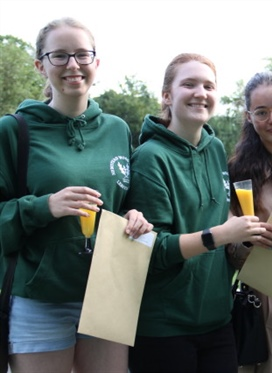 Newstead Wood School sixth form students celebrate A...