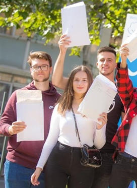 Paddington Academy students celebrate brilliant A Level...