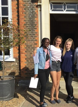 Princess Helena College Hitchin congratulates students...