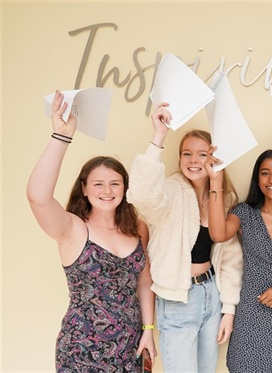 48.6% of pupils achieve eight or more grade 9 GCSES at...