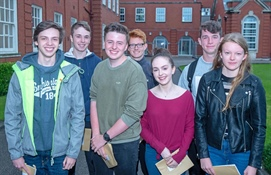 AKS students celebrate their GCSE success