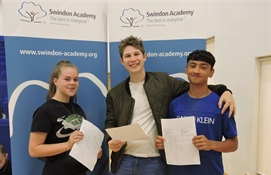 Another year of GCSE celebrations at Swindon Academy