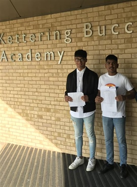 GCSE success at Kettering Buccleuch Academy
