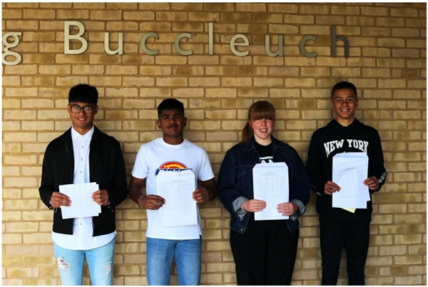 Kettering Buccleuch Academy soars above national average