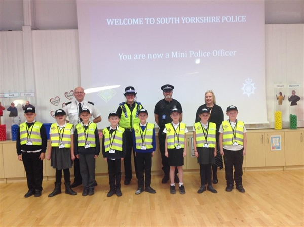 Barnsley Pupils Learn How to Help Their Community as 'Mini Police'