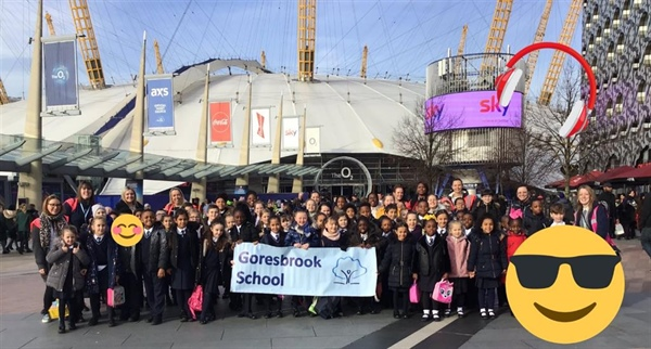 Goresbrook School Pupils Shine in Musical Spectacular at the O2