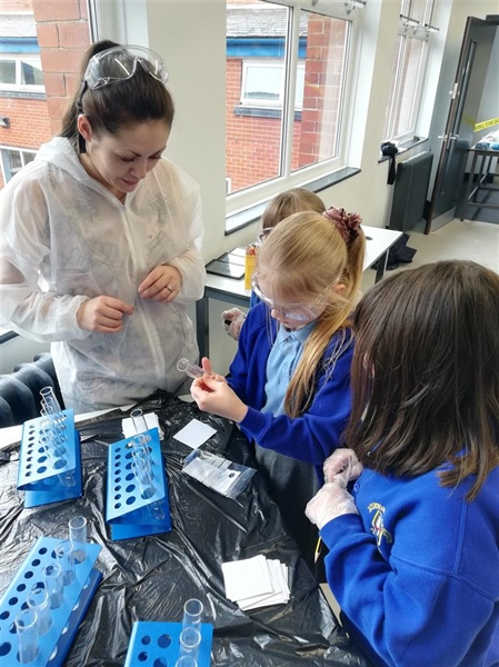 Two Local Schools Go Above and Beyond for British Science Week