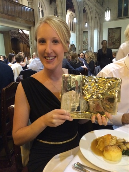 Surbiton High School Teacher Wins Pearson Gold Award for Outstanding New Teacher of the Year 2014