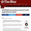 Press Cutting: Sheffield secondary school hosts aspirations event