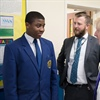 Mayor Boris Johnson Visits The Hurlingham Academy