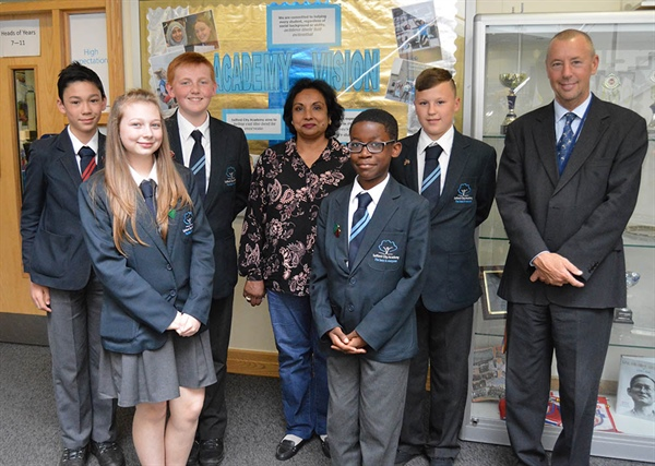 Salford Students Offer Insight Into British School Life