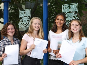 GCSE Results: 96% A*/A Grades for Guildford High School