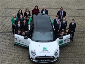 Arval inspires at Nova Hreod Academy