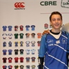 Barnsley Academy student unveils school's new kit at Six Nations game