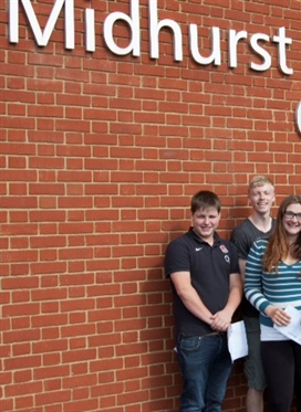Midhurst Rother College Celebrates Best Ever A Level Results